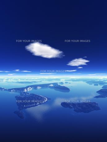 海と島と空の素材 [FYI01154173]
