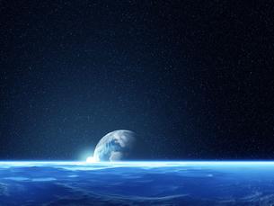 広がる宇宙空間の素材 [FYI01154209]