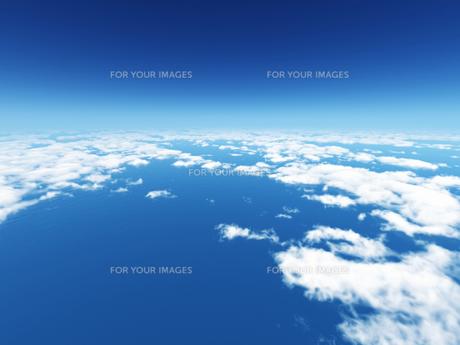 空と雲と海の素材 [FYI01154228]