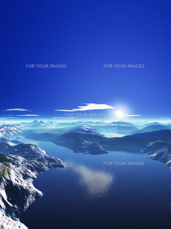 海と島と空の素材 [FYI01154251]