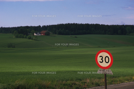 交通標識の素材 [FYI01154274]