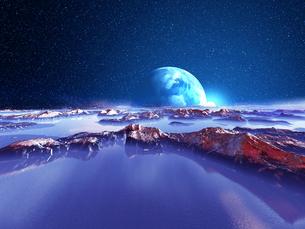 惑星から見た光の素材 [FYI01154301]