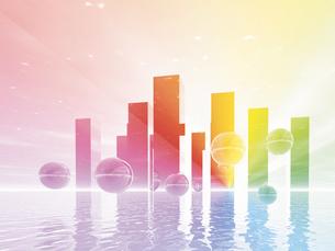 未来都市(CG)の素材 [FYI01156095]