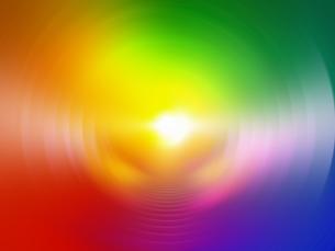 虹色の空間に光の素材 [FYI01156300]