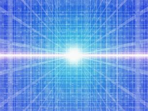 グリッドと光の集中の素材 [FYI01156367]