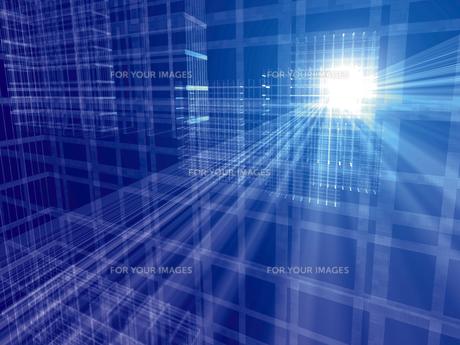 コンピューターグラフィックスの素材 [FYI01156468]