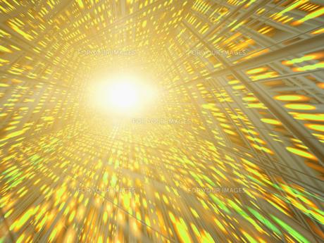黄色い空間に光の素材 [FYI01156481]