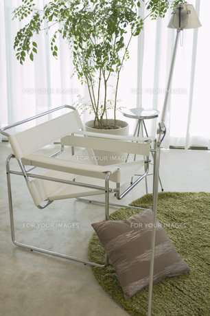 椅子とクッションの素材 [FYI01156797]