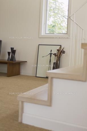 階段のある部屋の素材 [FYI01156866]