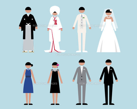 人物(結婚式1)の素材 [FYI01156948]