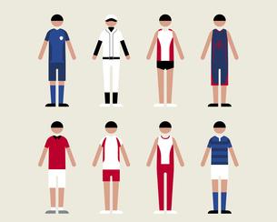 男性(スポーツ)の素材 [FYI01157022]