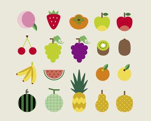 いろいろな果物の素材 [FYI01157120]