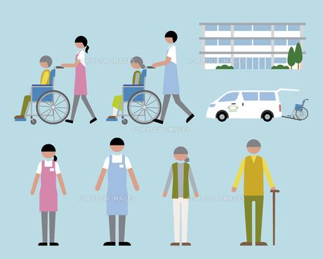 老人ホーム・介護の素材 [FYI01157132]