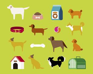犬とペット用品の素材 [FYI01157167]