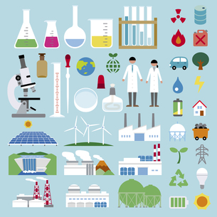 エネルギー化学セットの素材 [FYI01157273]