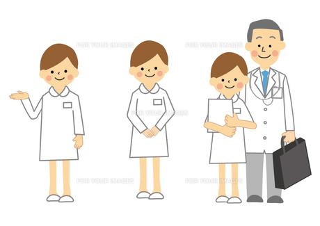 医者と看護師の素材 [FYI01157280]