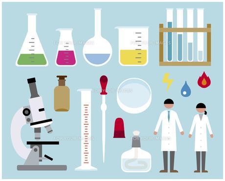 科学実験セットの素材 [FYI01157287]
