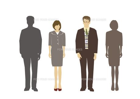 男性と女性の素材 [FYI01157557]