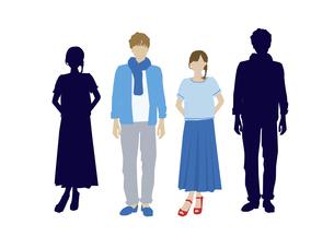 男性と女性の素材 [FYI01157588]