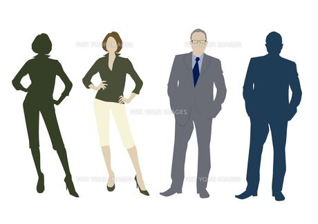男性と女性の素材 [FYI01157603]