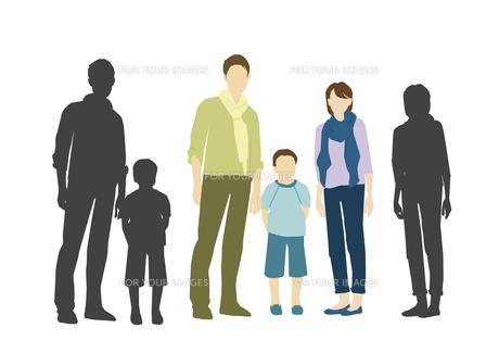 父と母と息子の素材 [FYI01157648]