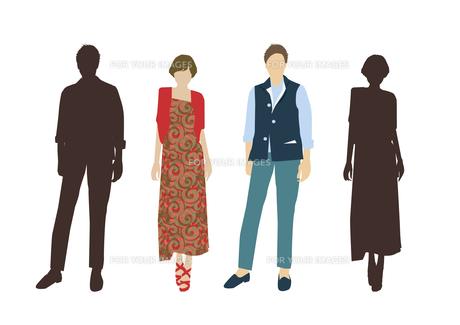 男性と女性の素材 [FYI01157655]