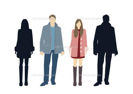 男性と女性の素材 [FYI01157658]
