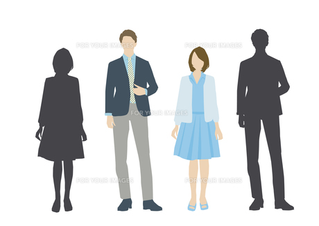 男性と女性の素材 [FYI01157689]