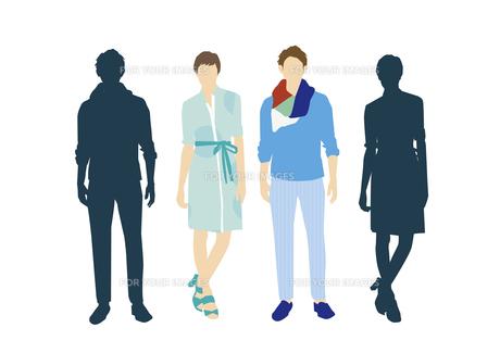 男性と女性の素材 [FYI01157706]