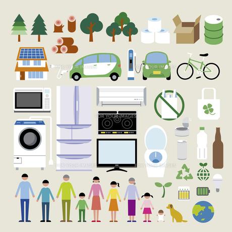 エコ家電リサイクルセットの素材 [FYI01157718]