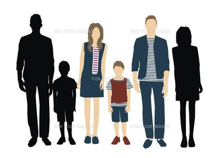 父と母と息子の素材 [FYI01157720]