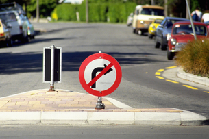 交通標識の素材 [FYI01157946]