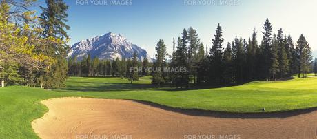 ゴルフコースの素材 [FYI01157996]