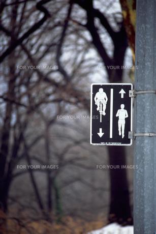 標識の素材 [FYI01158360]