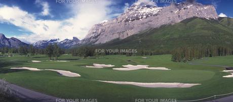 ゴルフコースの素材 [FYI01158610]