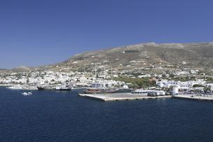 パロス島の港の素材 [FYI01158665]
