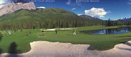 ゴルフコースの素材 [FYI01158666]