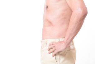 健康体シニアの上半身の写真素材 [FYI01159172]