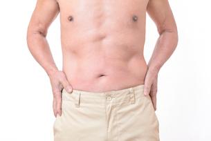 健康体シニアの上半身の写真素材 [FYI01159175]