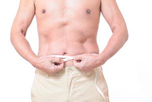 健康体シニアの上半身の写真素材 [FYI01159176]