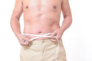 健康体シニアの上半身の写真素材 [FYI01159178]