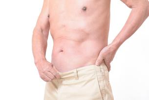 健康体シニアの上半身の写真素材 [FYI01159179]