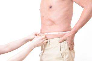 健康体シニアの上半身の写真素材 [FYI01159180]