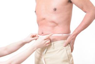 健康体シニアの上半身の写真素材 [FYI01159181]