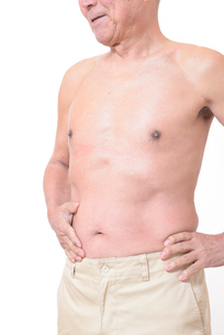 健康体シニアの上半身の写真素材 [FYI01159184]