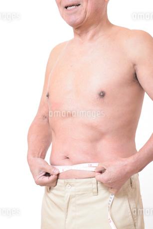 健康体シニアの上半身の写真素材 [FYI01159186]