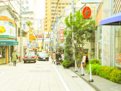 神戸岡本散歩の写真素材 [FYI01159638]