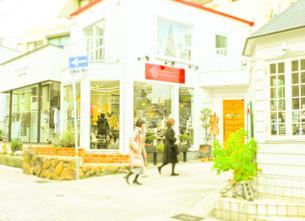 神戸岡本散歩の写真素材 [FYI01159643]