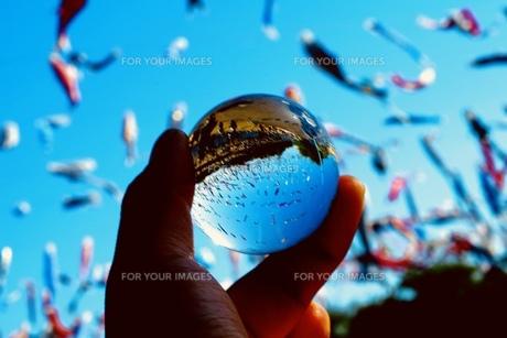 ガラス玉の写真素材 [FYI01159878]