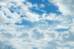 北海道の大きな空の写真素材 [FYI01160127]